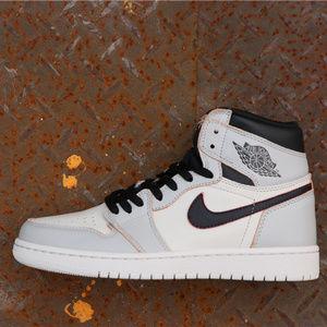 """Air Jordan 1 High OG """"Light Bone"""""""